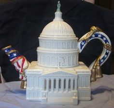 U.S. Capitol teapot