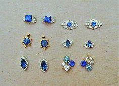 12-pc-Blue-Nail-Charms-Wedding-Nail-Art-turtle-Nails-Nail-Bling-3d-Nail-art
