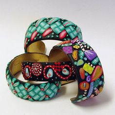 sculpey clay projects   Polymer Clay Bracelets