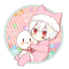 埋め込み Chibi Boy, Cute Anime Chibi, Anime Neko, Cute Anime Boy, Anime Guys, Manga Kawaii, Kawaii Chibi, Kawaii Drawings, Cute Drawings