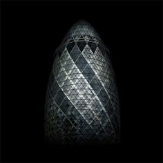 "Norman Foster Building (""the gherkin""), 2007 - London"