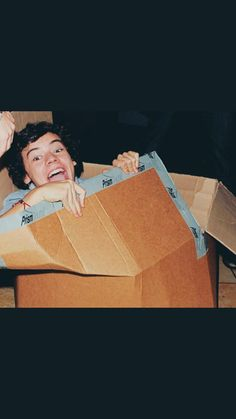 """As Niall would say """"chillin in me box"""""""