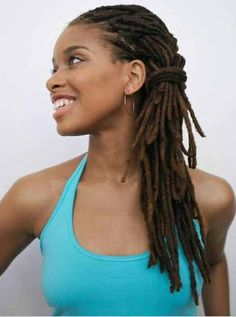 46 Best Locs Images Natural Hair Styles Hair Styles