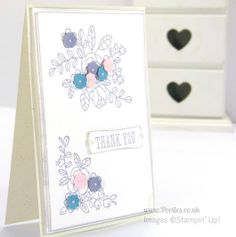 Stampin' Up! UK Independent Demonstrator - Pootles. Thank You...