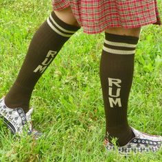 Rum Socks from On After Creations for $10.00