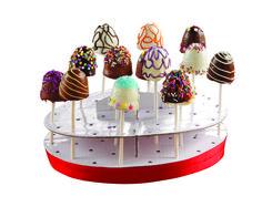 Anna Olson's Brownie Pops Sweet Desserts, No Bake Desserts, Delicious Desserts, Sweets Cake, Cupcake Cakes, Anna Olsen, Brownie Pops, Pastry Cake, Cakepops