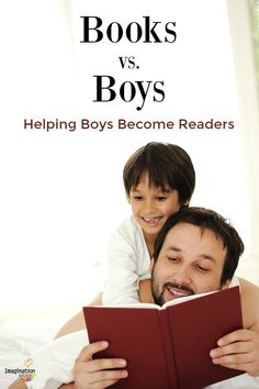 How to help your boy become a reader. GREAT ideas from author and teacher, Laura…