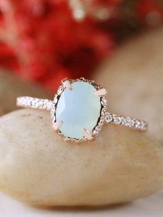 Featured Designer: Stones & Gold; engagement ring idea