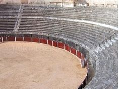 Bullring (Plaza de toros) of Bocairent, the oldest of Valencia and the only one in Spain that is done in the rock.