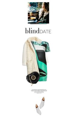"""""""Blind Date.."""" by angiesprad ❤ liked on Polyvore featuring MANGO, Mary Katrantzou, Love Moschino, Firth, Etiquette, women's clothing, women, female, woman and misses"""