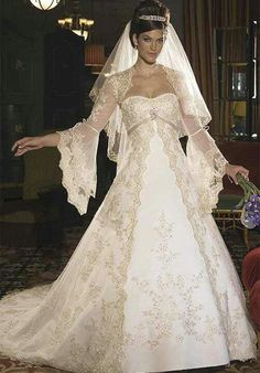 Lace Renaissance Wedding Dress