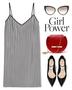 """""""Girl Power"""" by catchsomeraes ❤ liked on Polyvore featuring Dita, Angela Valentine Handbags, Marco de Vincenzo and MyPowerLook"""