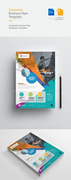 Creative & Clean Business Flyer - Corporate Flyers
