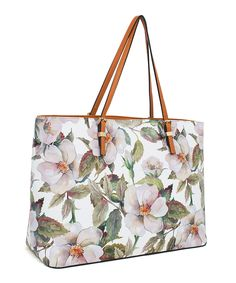 Another great find on #zulily! Rebecca & Rifka Blush & Green Pale Floral Tote by Rebecca & Rifka #zulilyfinds
