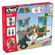 #Christmas Additional Informations K'NEX Nintendo Super Mario 3D Land Cannon Building Set for Christmas Gifts Idea Online Shopping . Any time Christmas  will come, quite a few things to do find routinary because we've got carried out these people numerous instances formerly they've come to be some kind of history. In the event that...