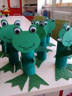 toilet paper roll frog craft  |   Crafts and Worksheets for Preschool,Toddler and Kindergarten