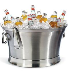 Impress your guests with cold drinks all throughout the big game.