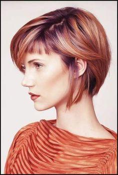 Pin von Vc Cosmetologist auf mid-length haircut | Pinterest ... | Einfache Frisuren