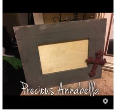 Hand Painted Frames 4x6 $10 5x7$15