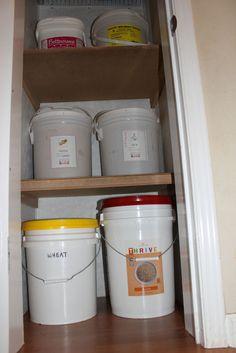 emergency food storage pantry All food storage needs to be in air