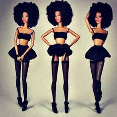 Barbie Gone Bad - Goth Barbies