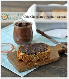 Chia Chocolate Hazelnut Spread Recipe