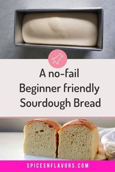 This Sourdough Sandwich Bread Loaf is my go to bread recipe for making sandwiches, toast and also to dunk in soups. Made with no yeast; from homemade starter this bread has a caramalized brown crust with soft and light crumbs. A best no knead bread recipe that you need to try NOW!! Sourdough Sandwich Bread Recipe, Knead Bread Recipe, Sandwich Bread Recipes, No Knead Bread, Sourdough Recipes, Lunch Box Recipes, Sourdough Bread, Easy Baking Recipes, Vegetarian Recipes Easy