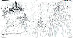 Amazon.co.jp: 塗り絵 シンデレラ物語: zenyoji: 本