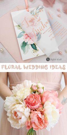 pink blush floral wedding invitation ideas #stylishweddinvitations #vellumweddinginvitations