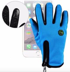 These gloves have everything you need to stay warm and still have fun outside. We love the thermal fleece, waterproof, touchscreen features. Great winter gloves for hiking, biking, skiing, hunting, fishing, riding, and other outdoor activities. www.wowgreatgifts.com