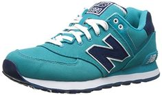 New Balance  NBWL574POP,  Damen lauflernschuhe , - blau - Größe: EU 39 (US 8) - http://on-line-kaufen.de/new-balance/39-eu-8-us-new-balance-wl574bfl-damen-babyschuhe