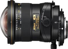 The PC NIKKOR ED is an ultra-wide-angle perspective control lens from Nikon, designed for architecture, landscape, and fine art photography and filmmaking. Nikon Lenses, Camera Nikon, Camera Gear, Dslr Cameras, Camera Tips, Canon Lens, Film Camera, Nikon Digital Camera, Digital Slr