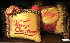 Spread Holiday cheer with Reilly Chance pillows