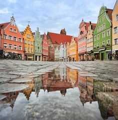 Houses in Munich, Germany