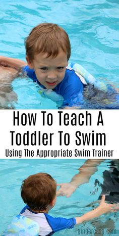 It's important to teach even the youngest child how to swim.and it's made easier with swim stages and swim trainers from SwimWays. Swimming Lessons For Kids, Swimming Tips, Baby Swimming, Swim Lessons, Swimming Workouts, Teach Toddler To Swim, Teaching Kids, Kids Learning, Parenting Humor