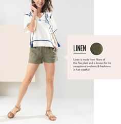 I love the olive green with the boho top for my beach vacation. It is comfortable, cute and pulled together.