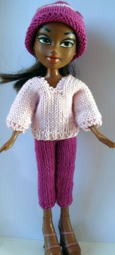 Bratz pattern section. Can be used for made-under, recycled, upcycled Bratz dolls.