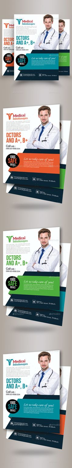 Medical Flyers Templates | Flyer Template, Medical And Brochures