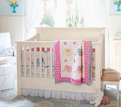 I love the Larkin 4-In-1 Crib with Water Base Finish, Simply White on potterybarnkids.com