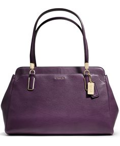 3b08e542a0de4 COACH MADISON KIMBERLY CARRYALL IN LEATHER Handbags   Accessories - COACH -  Macy s