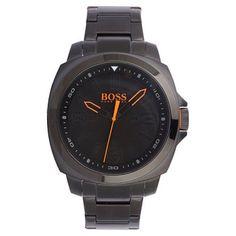 Hugo Boss - Men\'s Brisbane Black Ion-Plated Bracelet Watch - 1513100 - Online Price: £175.00