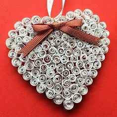 Quilling Heart Ornament