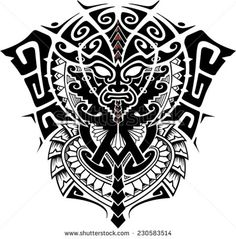 Image from http://image.shutterstock.com/display_pic_with_logo/2471812/230583514/stock-vector-tribal-god-mask-with-alpha-and-omega-symbol-vector-illustration-230583514.jpg.