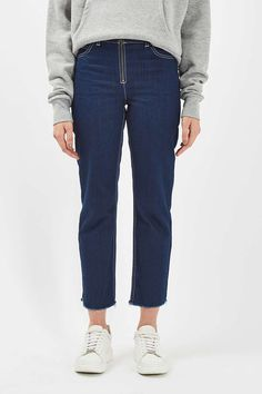 Zip Front Jeans by Boutique - Jeans - Clothing - Topshop USA