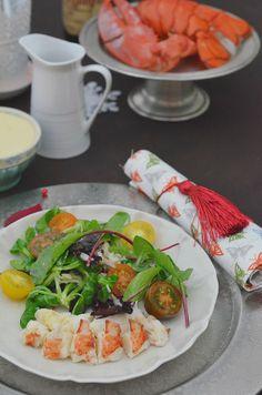 Ensalada de Bogavante con mahonesa de almendras y vinagreta cítrica - #DimequeesViernes