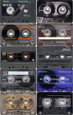 cintas cassette by chaos.nt, via Flickr - www.remix-numerisation.fr