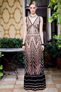 Franzi Mueller - Moschino - Resort 2013 Ready-to-Wear - new york - Fashion Show Fashion Week, New York Fashion, Runway Fashion, Fashion Show, Women's Fashion, Fashion Beauty, Moschino, Chevron, Dressed To Kill