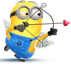 Minion Rush, Minions Love, Minions Funny Images, Cupid, Good Night Sweet Dreams