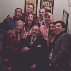 We have so many reasons to #Grimm from ear to ear. Happy holidays, #Grimmsters! [photo via @clairecoffee]