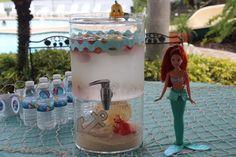 Drinks at a Mermaid Party #mermaid #partydrinks